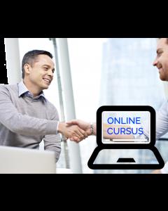 Onderhandelen voor professionals - online cursus