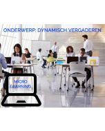 Dynamische en productieve vergaderingen