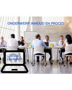 Effectief vergaderen - Inhoud en proces effectief en positief beïnvloeden